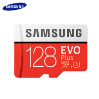 Карта памяти Samsung Micro SD 256 ГБ оперативной памяти, 16 Гб встроенной памяти, 32 ГБ, 64 ГБ, 128 ГБ SDHC/SDXC Класс EVO + класс 10 C10 UHS TF модуль памяти Transflash карты ...