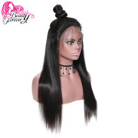 a65fb55e2 BeautyForever 13*6 Straight Lace Front Wigs Brazilian Remy Hair Human Hair  Wig 150 Density