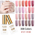 RS NAIL 15ml UV Color LED Gel Lacquer Gel Varnish 308 Colors Nail Gel Polish #121-180 Esmalte Permanente a set of gel varnish(3)
