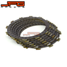 Motorcycle Friction Clutch Plates Disc For KAWASAKI ER650 ER6F NINJA 650 650R KLR650 VERSYS 650 EX650 KL650 KLE650 KLX650 ZX750(China)