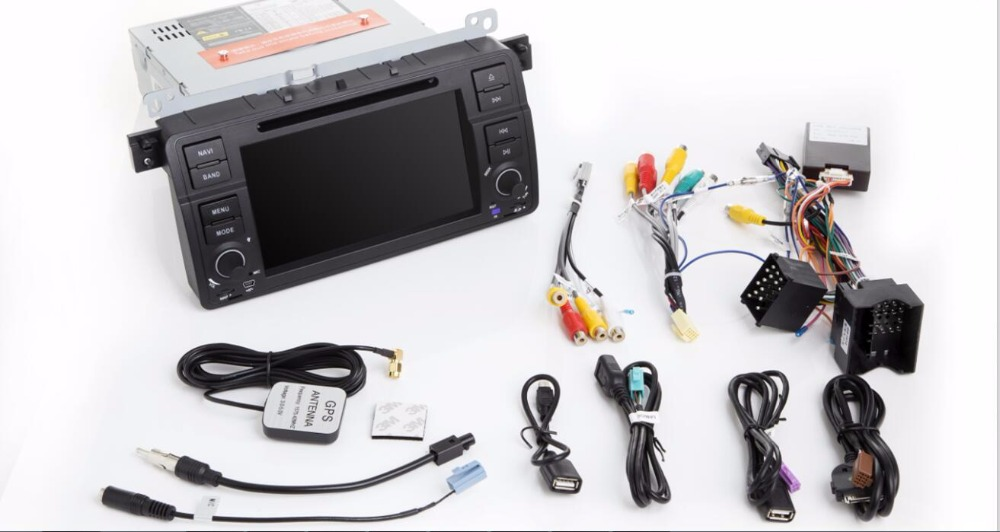 Android 8.0 4G RAM/ Android 7.1 2G 2 DIN Car DVD GPS Radio stereo For BMW E46 M3 Land Rover 3 Series dvd player navigation DSP