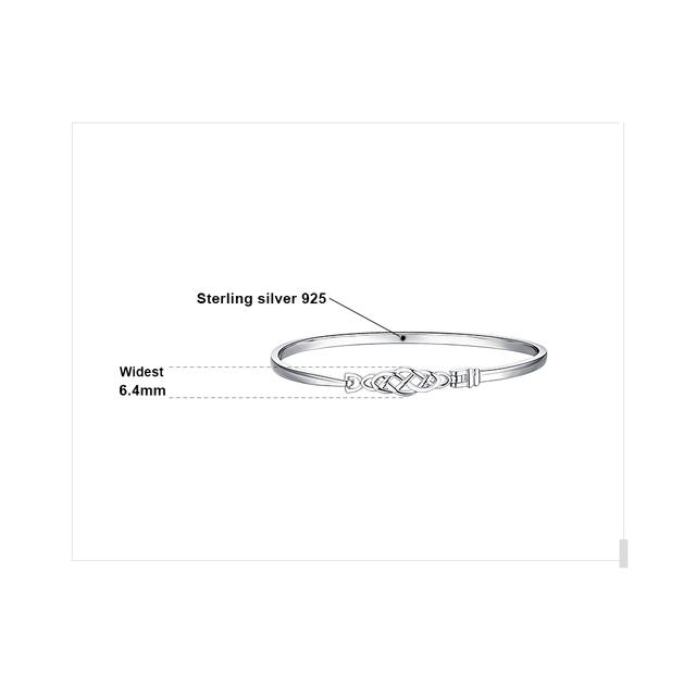 Celtic Knot Sterling Silver Bracelet