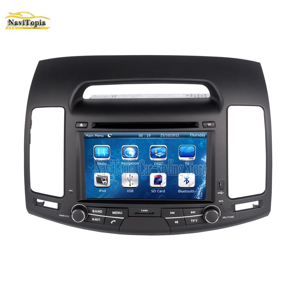 Hyundai Elantra 2007 For Sale: Aliexpress.com : Buy NAVITOPIA GPS Navigation Car DVD