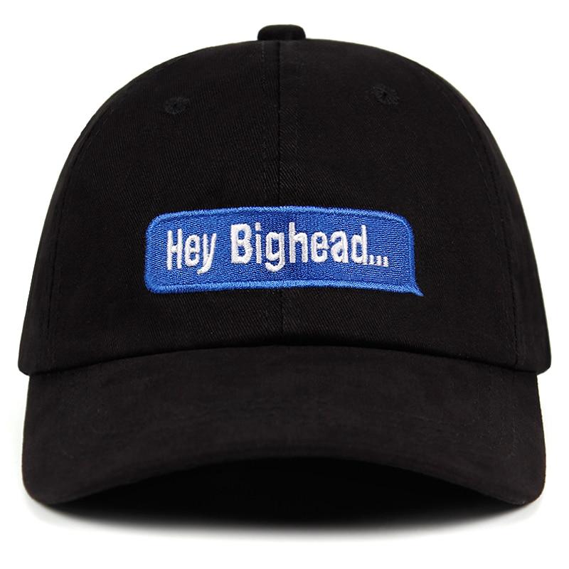 Hey Bighead Dad hat buzzwords catchword Women Men Snapback   Caps   embroidery 100% cotton Hey Big head... Casual   Baseball     Cap