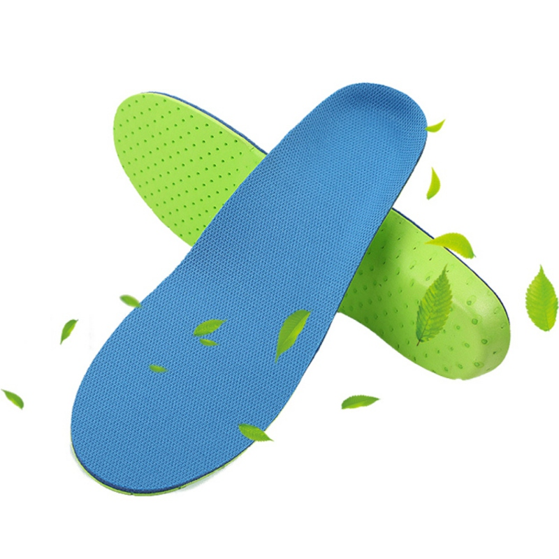 Foot Arch Insoles Male Full Palm Pad Arch Support Non-slip Cushioning Female Mesh Cloth Insoles