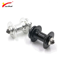 JS 36 Holes Front Bicycle Hub Quick Release Black Silver Aluminum Alloy Cycling Parts Disc Brake Bearing Hubs MTB High Quality