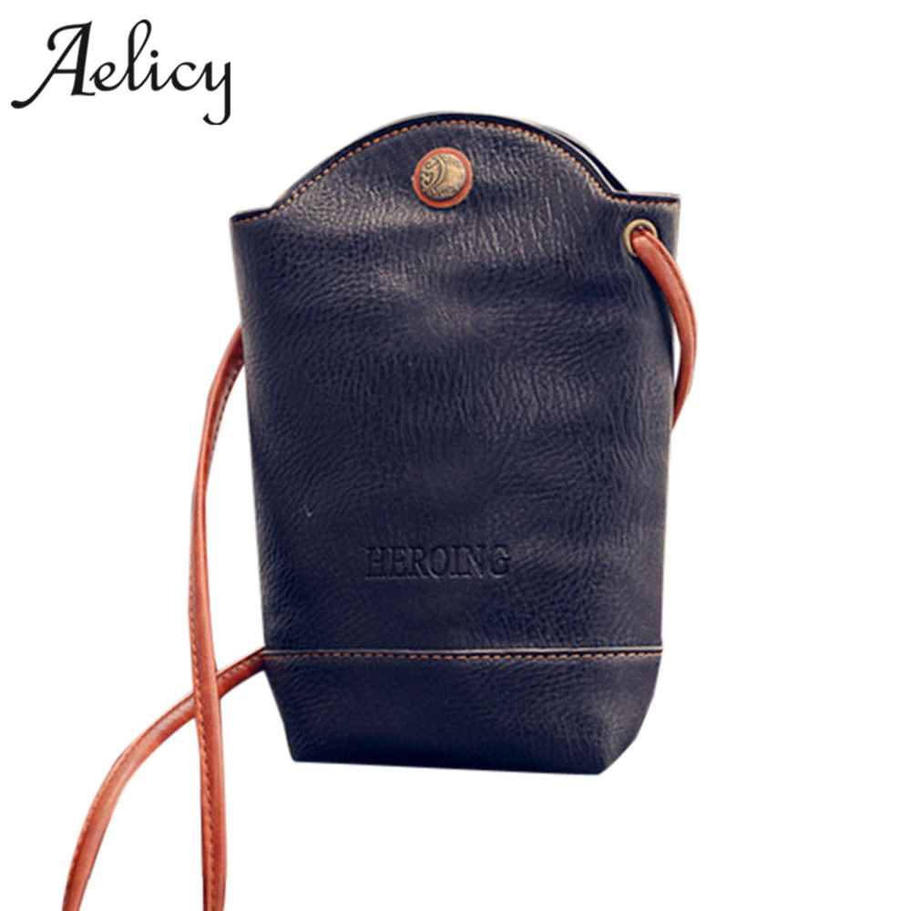 Aelicy High Quality Women Messenger Bags Slim Crossbody Shoulder Bags Small Body Bags Designer Bolsas Shoulder Messenger Bags