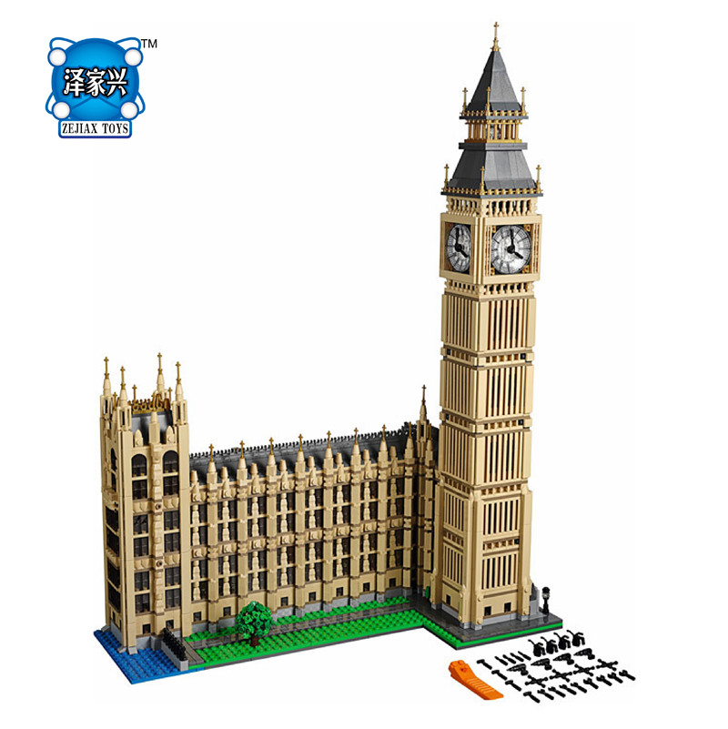 New Creator Series The Big Ben Model Lepines Building Blocks Bricks Figures Set Compatible 10253 Classic  Toys for Children 2016 new lepin 21005 creator series the emerald night model building blocks set classic compatible legoed steam trains toys