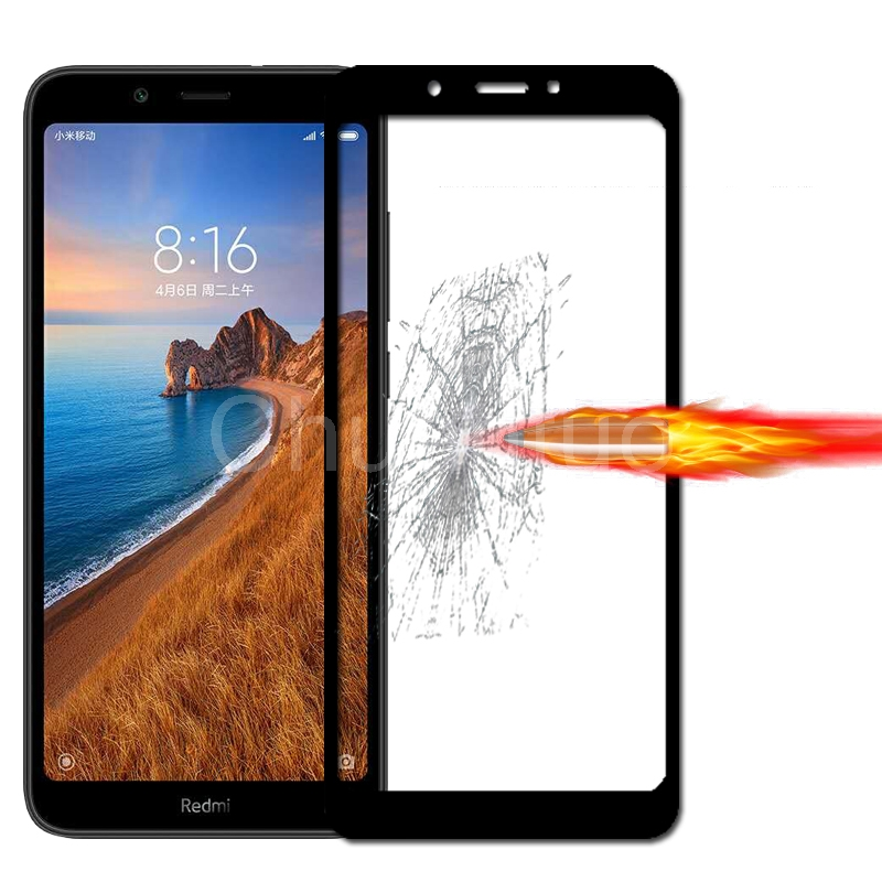Image 5 - 25 Pcs/Lot Full Coverage Screen Protectors For Xiaomi Redmi 7A Scratch Proof Protective Film Tempered Glass For Xiaomi Redmi 7A-in Phone Screen Protectors from Cellphones & Telecommunications