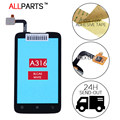 Original Tested Sensor Touchscreen For LENOVO A316 A316i Touch Screen Digitizer Glass Panel Black Parts Free Adhesive