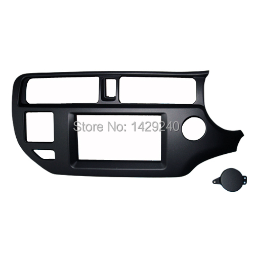 2 din Car DVD Frame,Dashboard Kits,Front Bezel,Radio Frame Adaper,DVD Cover,Dash Trim Kit for KIA Rio 5-door(RHD),Double Din brand new car dashboard cover for audi tt dash cover mat right hand driver