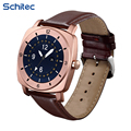 SCHITEC New Bluetooth Wrist Smart Watches with Camera Heart Rate Support SIM TF Card for IOS iPhone Android Samsung Sony LG