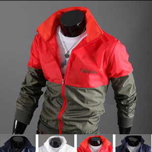 Free shipping,2012 hot sale Special package mail trend of men's jacket Man Street