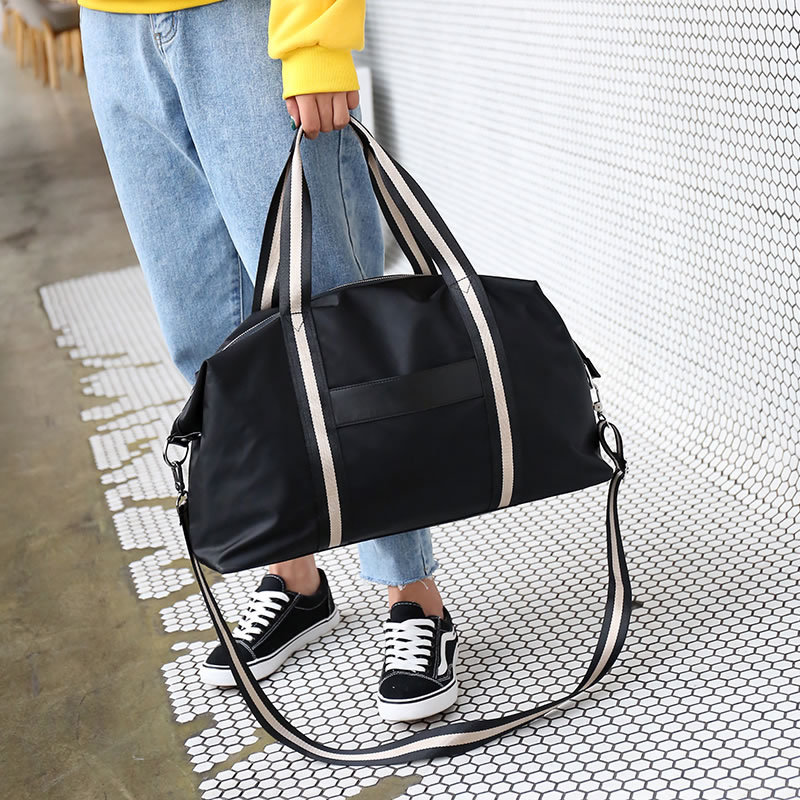 2020 Hot Canvas Women's Travel Bags Yoga Gym Bag For Fitness Shoes Handbags Shoulder Crossbody Pouch Women Men Sac De Sport Pack