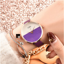 цены New Fashion Waterproof Leather Strap High Quality Colorful Women Watch Casual Ladies Luxury Watches Relogio Feminino