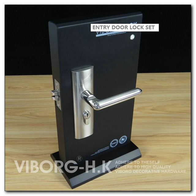 Viborg Quality Security Entry Door Mortise Lever Lock Set