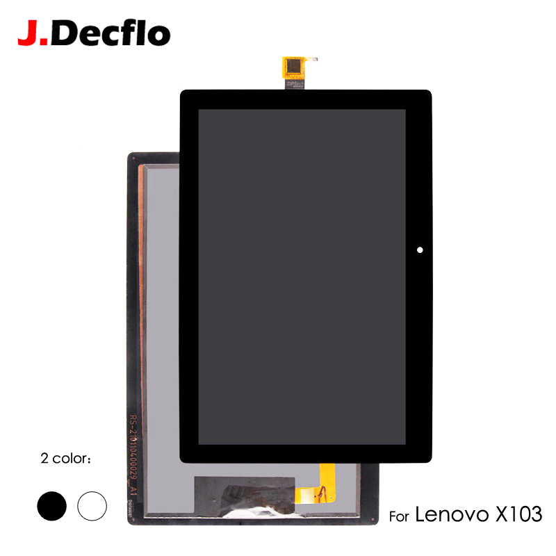 LCD Display For Lenovo Tab 3 10 Plus TB-X103F TB-X103 Touch Screen Panel Digitizer Sensor Matrix Module Assembly No Frame 10.1''