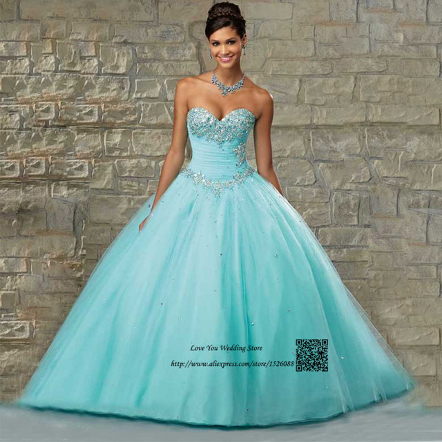 c0e537645a US $169.0 |Vestidos de 15 Anos Cheap Quinceanera Dresses Gowns Mint Green  Crystals Plus Size Floor Length Debutante Sweet 16 Ball Gowns-in  Quinceanera ...