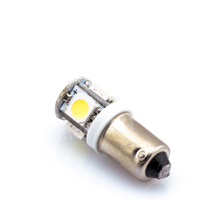 10Pcs Car Bulbs BA9S Led Car LED Cars 5050 5 SMD 5 LED Interior Bulbs Reading Light Car Light Sourse White Blue 12V High quality 2pcs high quality superb error free 5050 smd 360 degrees led backup reverse light bulbs t20 for hyundai i30