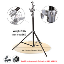 Buy online 4m/13ft Photography Studio Heavy Duty Light Stand Professional Aluminum Alloy Studio Light Stand Tripod