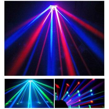 VoiceActivated DMX ň�御 Rgbw Led Â�テージライトディスコパーティー DJ Ã�ームライト音楽ショーレーザープロジェクター照明効果