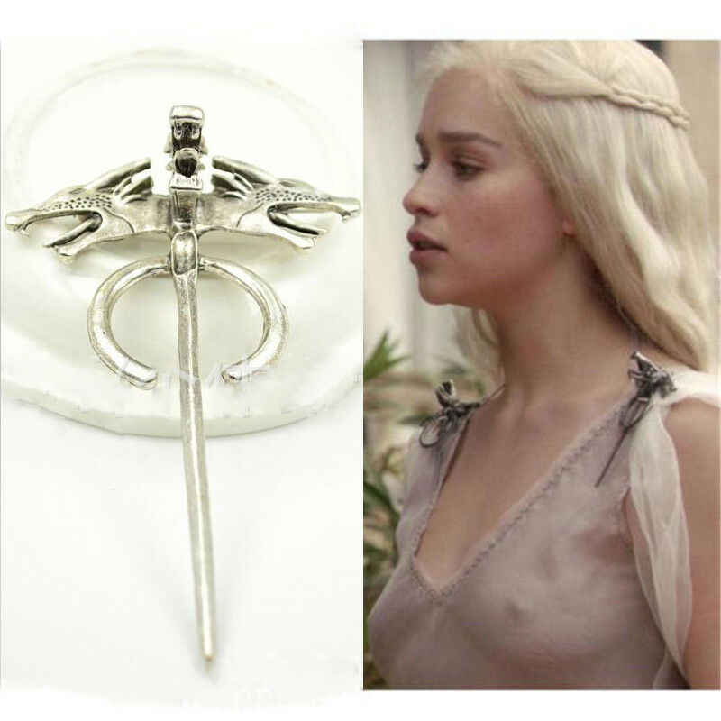 Broche Cosplay broche Dragon Pin de Daenerys broche Cosplay bijoux Badge Cosplay broche mère de Dragons