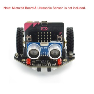 Image 2 - Micro: Maqueen Smart Car V4.0 Version for micro:bit Graphical Programming Robot Mobile Platform (without micro:bit Board)