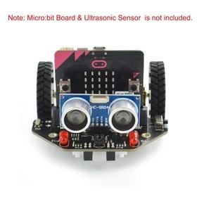 Image 2 - Micro: Maqueen Smart Car V4.0 Version pour micro: bit programmation graphique Robot plate forme Mobile (sans micro: carte de bits)