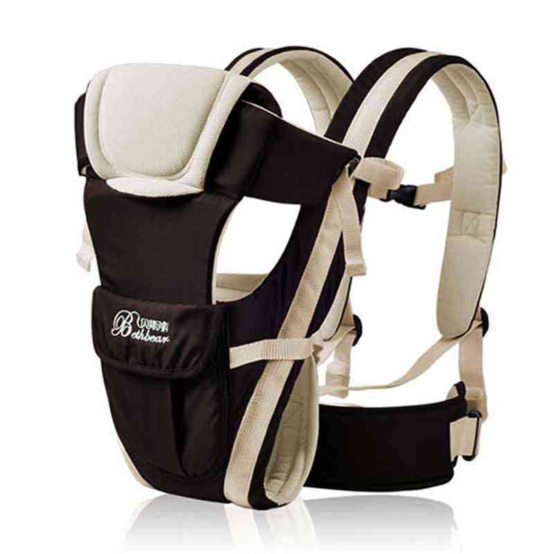 Beth Urso 0-4 em 1 30 Meses Respirável Frente Virada Baby Carrier Infantil Confortável Sling Backpack Bolsa Envoltório bebê Canguru Novo