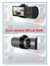 Dual Camera lens Car DVR with GPS tracking G-Sensor 2.7″ FHD 1080P car black box security Parking Recorder Video Camcorder