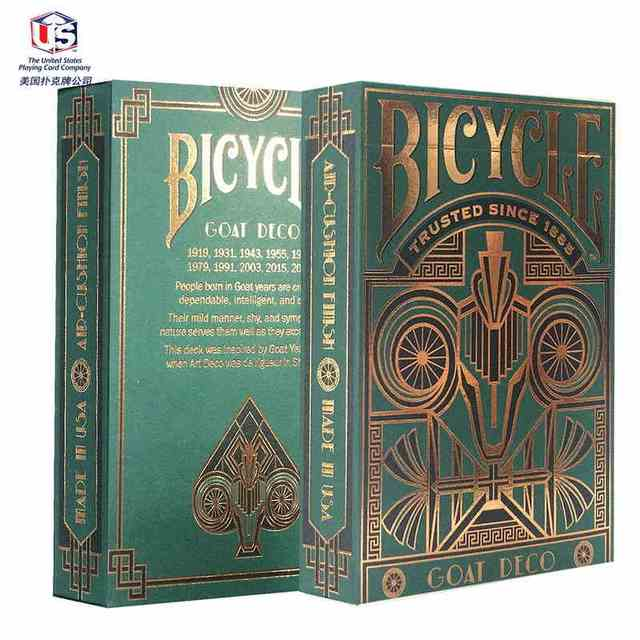 Bicycle Standard Goat Deco Deck Bicycle Playing Cards Poker Cards Size USPCC Limited Edition Sealed New Magic Tricks magic cards