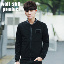 2017 new jacket males's males's informal vogue Baseball Jacket pure leather-based jacket males's jaquetas good-looking boy jacket
