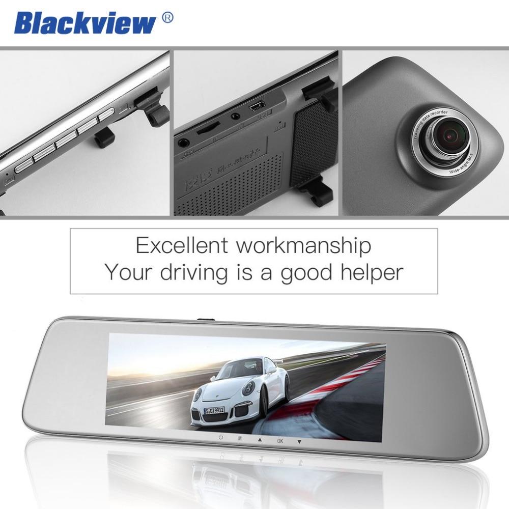 BLACKVIEW HS8C Car Dash cam 8 Inch Screen Rear view Camera Car Dvr Mirror Dual Lens Night Vision FHD 1080P Video Recorder Hot 8