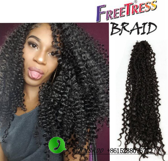 wave crochet braids human crochet hair extensions nubian twist crochet ...