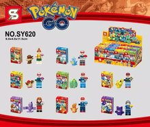 SY620 Pokemon Go Pikachu Charmander Bulbasaur Minifigures Building Block Bricks Toys Action Figure Kids Gift