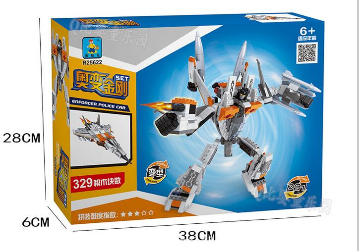 Building Block Sets Compatible with lego Airplanes robot 329 pcs 3D Construction Bricks Educational Hobbies Toys for Kids