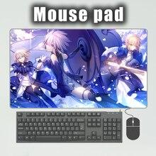 PINKTORTOISE Mousepad Gaming Playmat Japan anime fate saber super larger keybord mat mousepad