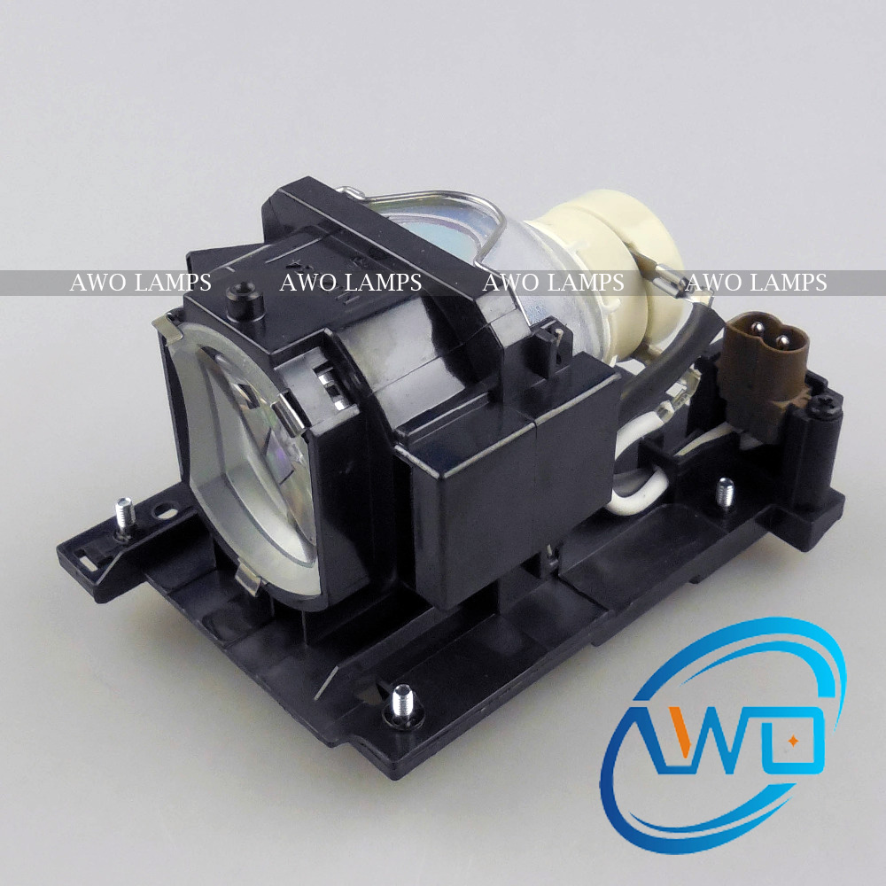AWO DT01021/PX2010LAMP Replacement Projector Lamp with Housing for HITACHI CP-X3010/X3010E/X3010EN/X3010N/X3010Z/X3011/X3011N awo compatibel projector lamp vt75lp with housing for nec projectors lt280 lt380 vt470 vt670 vt676 lt375 vt675