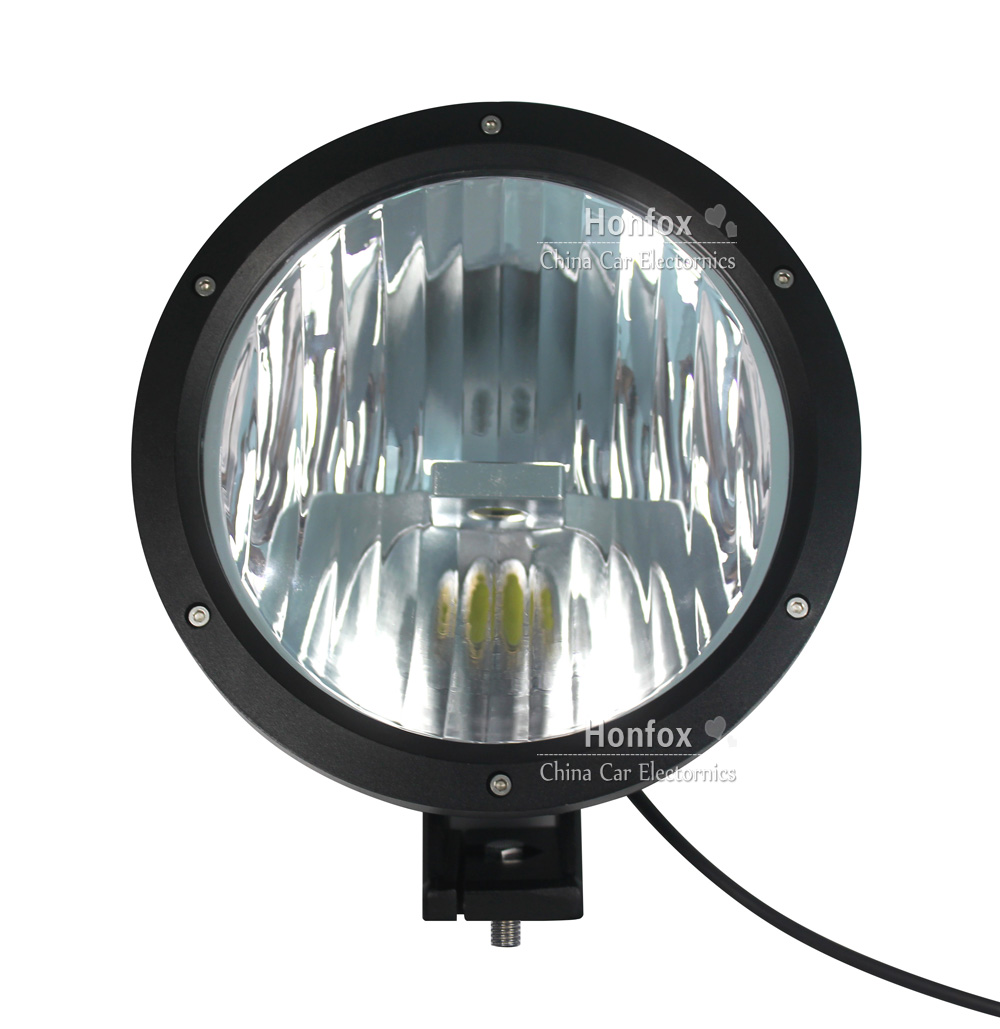 ФОТО 50W 9.0 inch  LED Working Driving Fog Light Car  SUV Off road front bumper diamond  Lamp with  high intensity USA Cree LEDS