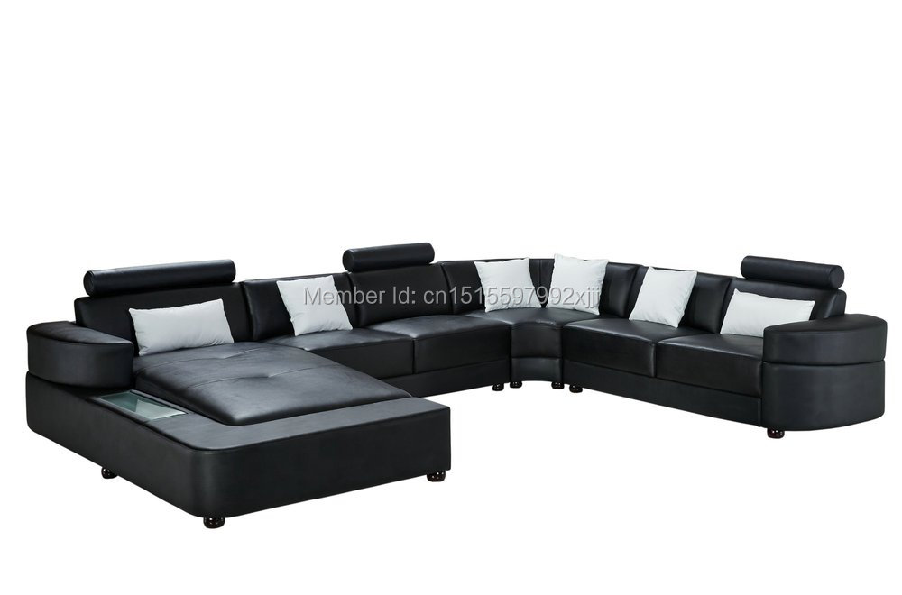 Beanbag Armchair Direct Factory For Living Room Modern Design Leather Sofa U Shaped Geniune Cow Home Furniture Sectional 2212 luxury chesterfield living room furniture u shaped sectional lovesac sofa furniture guangzhou
