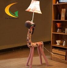 Children's room cartoon cloth floor lamp bedside lamp table lamp night light creative birthday gift