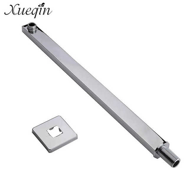 24inch Shower Arm Wall Mounted Square Copper Shower Extension Arm For  Rainfall Shower Head Shower Arms