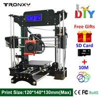 Hot Sale Cheap 3d Printer High Quality Reprap DIY Assembly 3D Printer Kit With Free 10m