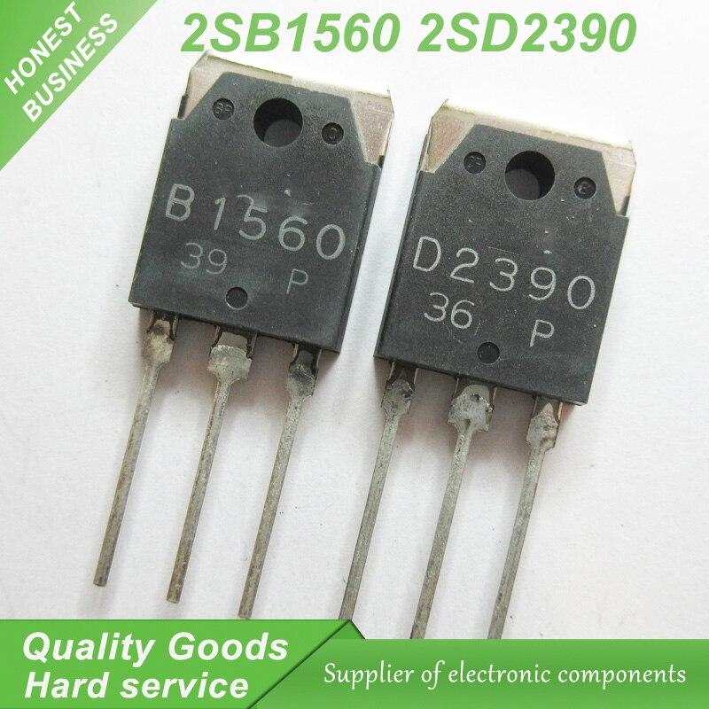 10 шт. 2SB1560 B1560 2SD2390 D2390 звук соответствия трубка (5 шт. * B1560 + 5 шт. * D23 ...