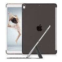Caso para o iPad 10.5 Pro, Lagava Caso de Volta Suave Combinação Perfeita Com Teclado Tampa Inteligente, Slim Fit Voltar Shell para 2017 Novo iPad Pro