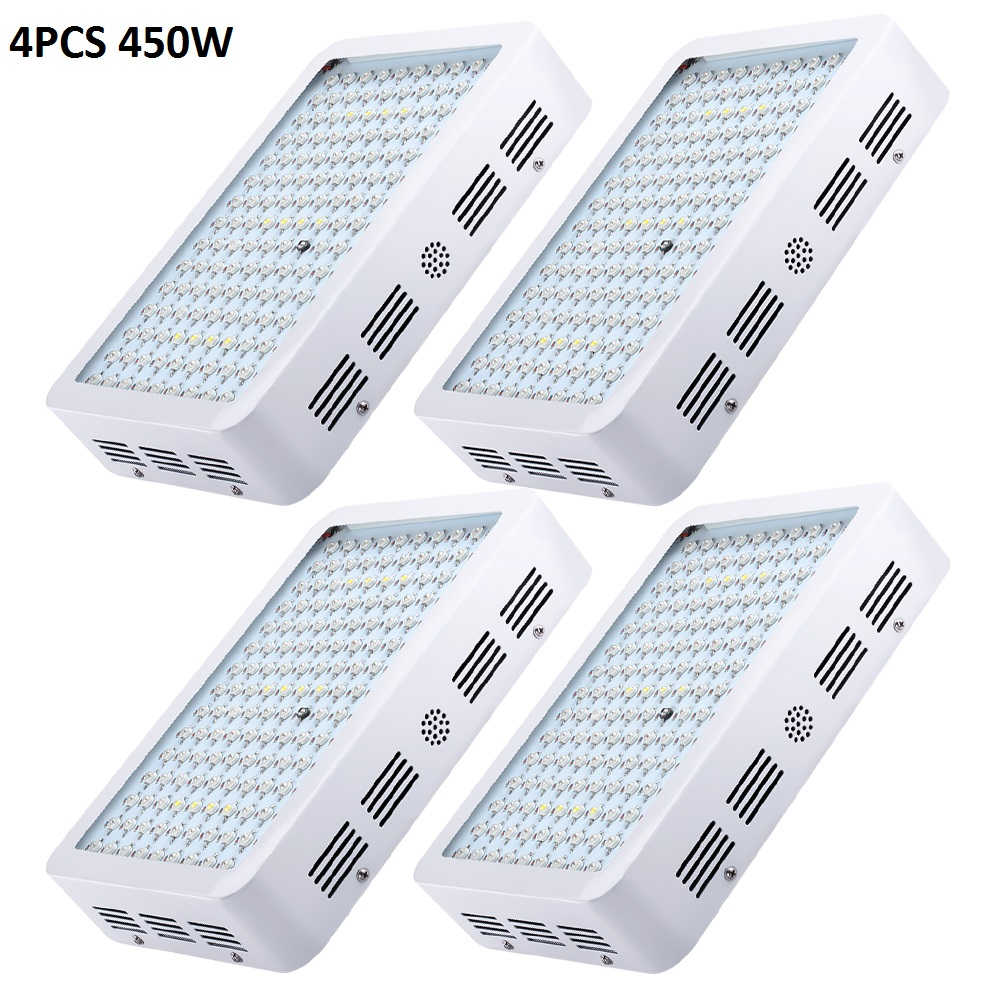 2pcs BOSSLED 450w LED Grow light For Medical Flower Plants Vegetative and Flowering Stage Full Spectrum led grow light