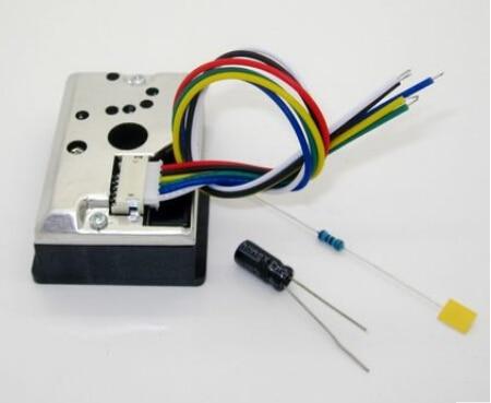 Dust sensor  GP2Y1010AU0F   PM2.5 dust sensor detects dust
