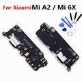 Плата зарядного устройства USB для Xiaomi Mi 6X A2  гибкий кабель  разъем док-станции  запасные части для Xiaomi mi6X