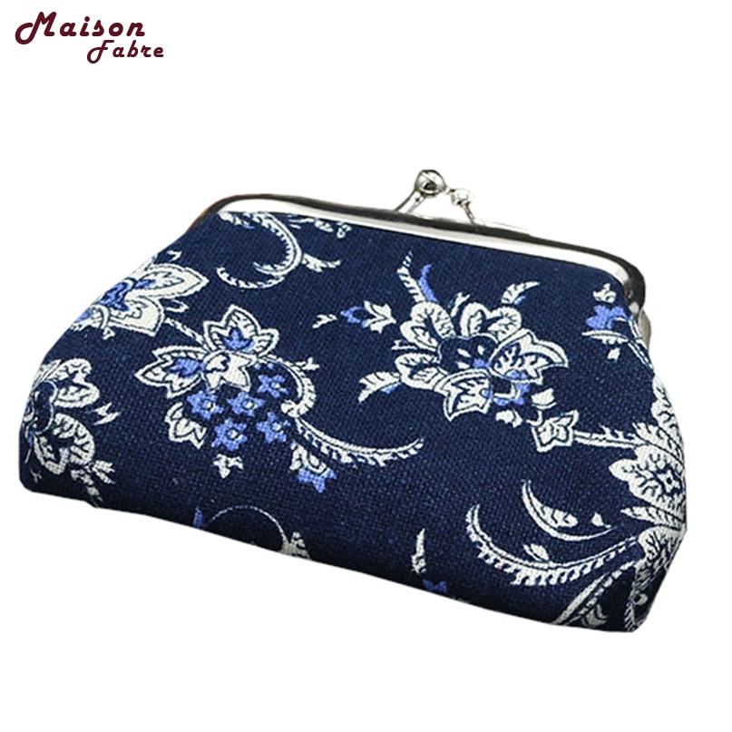 где купить Women Lady Retro Vintage Flower Small Wallet Hasp Purse Clutch Bag 2017 Hot drop shipping 0623 по лучшей цене