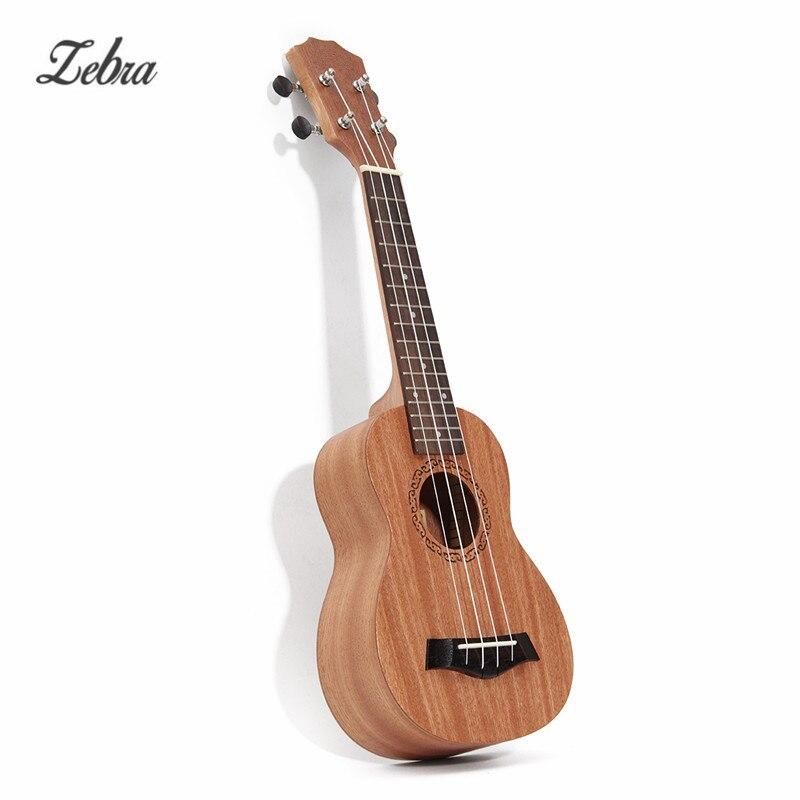 21 pulgadas Sapele Uke Soprano Ukulele Guitarra de Caoba Palo de Rosa 15 Trastes